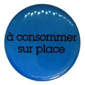 A consommer sur place