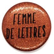 Femme de lettres