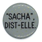 Sacha, dist-elle