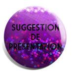 Hologramme violet disco
