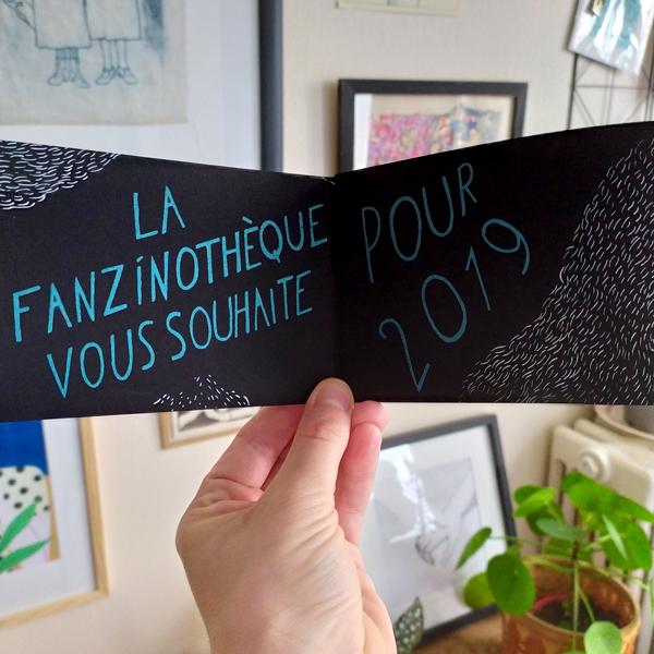 Carte de voeux de la Fanzino